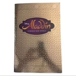3/$25 Disney Aladdin A Whole New World Play Book